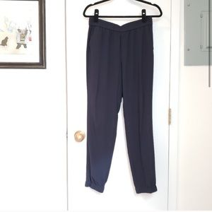 Never worn! Banana Republic Navy bottoms